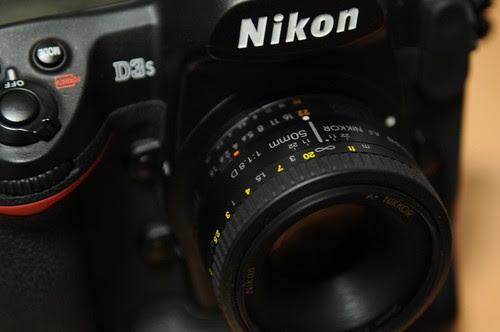 Ai AF NIKKOR 50mm f/1.8D by t.suwa