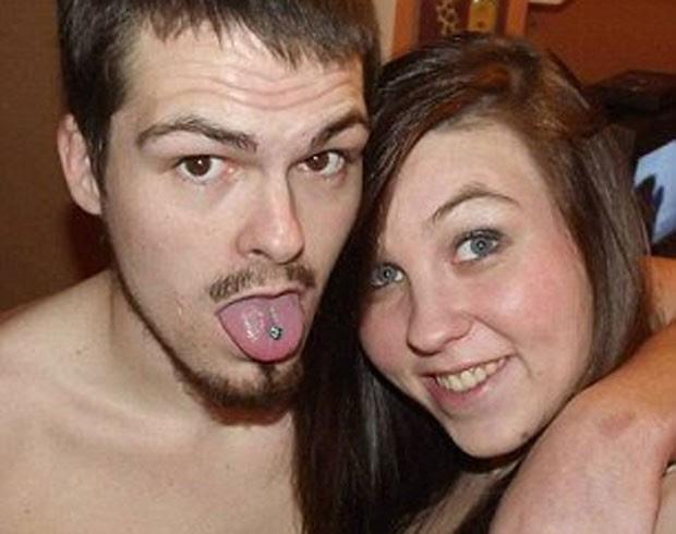 Brittany Pennington e Jonathan Howard, ambos de 24 anos, foram vistos fazendo sexo em carro (Foto: Reprodução/Facebook)