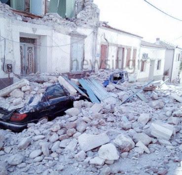 Μυτιλήνη: Απίστευτη ιστορία – Δίδυμος σεισμός 172 χρόνια μετά!