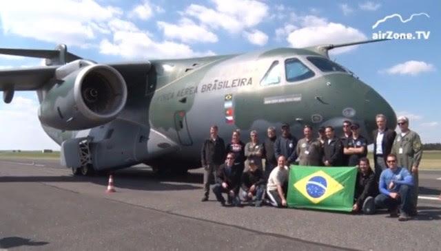 KC-390 na Republica Tcheca - cena 2 video Airzone TV
