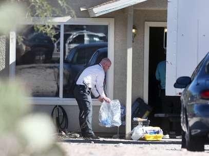 La policía fue a lavivienda tras recibir reportes de un incidente de violencia doméstica. Foto: AP