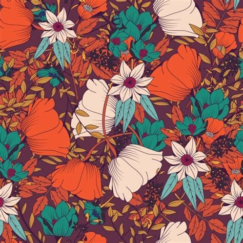 20  Flower Patterns   PSD, PNG, Vector EPS   Design Trends