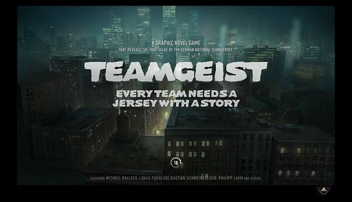 Adidas Teamgeist - Welcomescreen (screenshot)