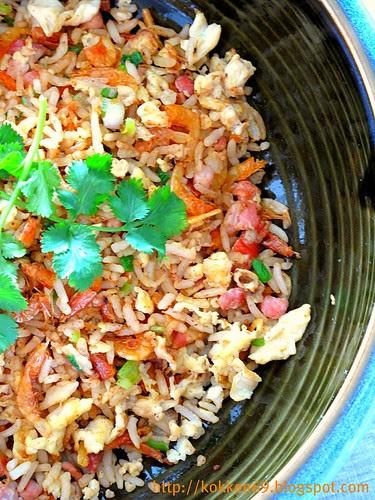 Sakura Ebi Fried Rice