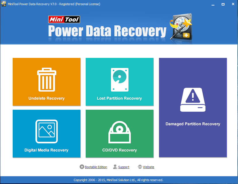 minitool power data recovery 7.0 serial key