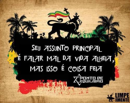 Frase Reggae Ponto De Equilibrio Good Vibe Positive Vibration Limpe