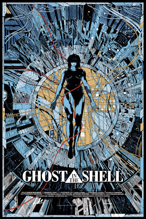 Ghost in the Shell by Kilian Eng