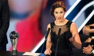 SPORT: Carli Lloyd Wins 2016 FIFA Best Female Player Award