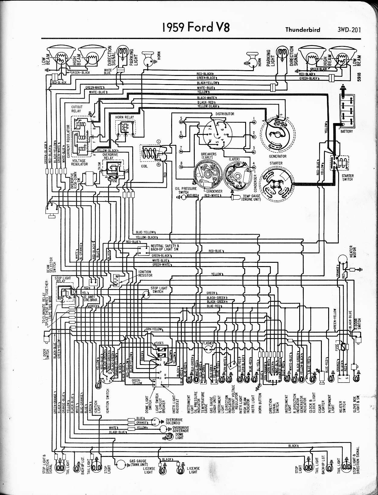 Wiring Diagram For A 65 Ford F100