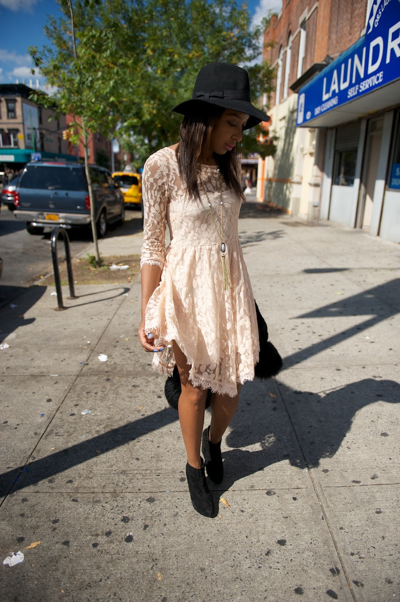 Free People Mesh Lace Dress