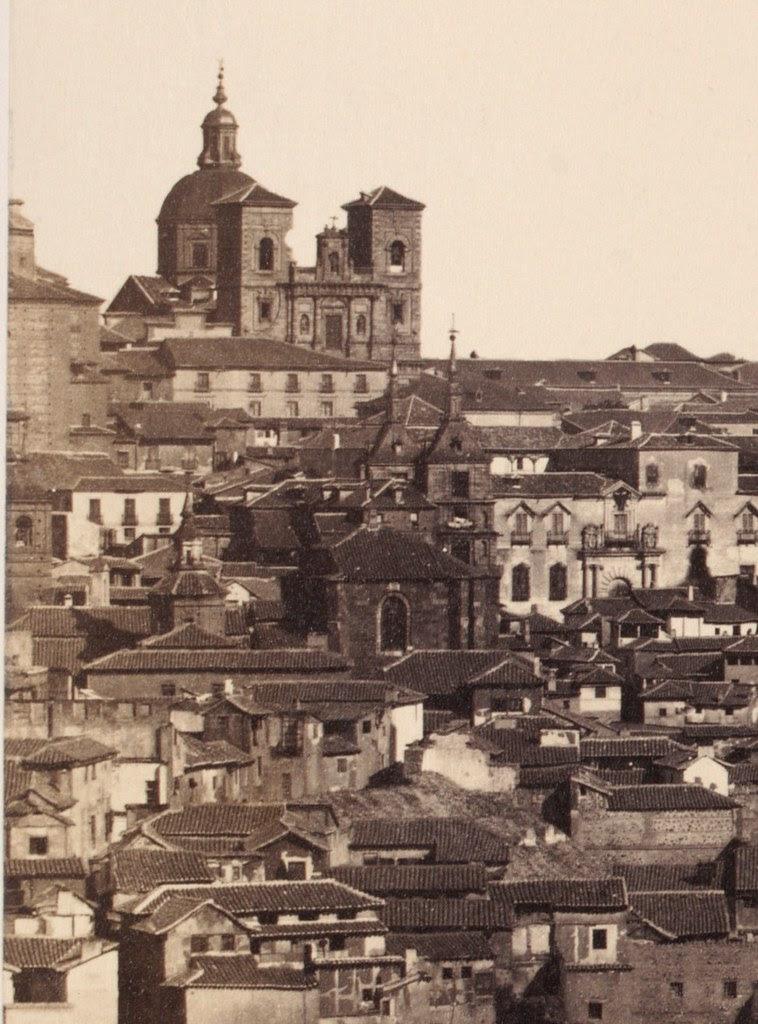 Iglesia de San Andrés en 1857. Fotografía de Charles Clifford (detalle)