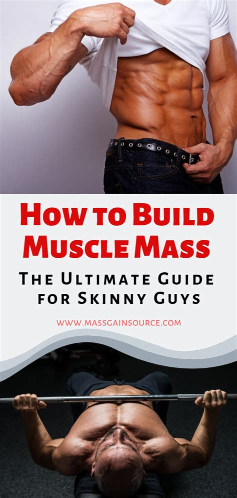 build muscle mass  ultimate guide  skinny