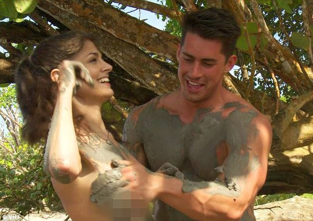 Reality programming just got real! Naked Dating contestant Jessie Nizewitz (left) is suing Viacom and the show's production companies for $10 million