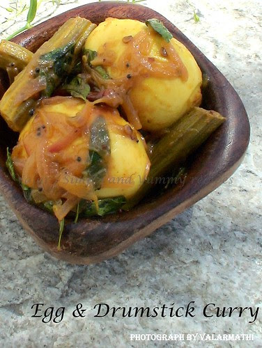 Egg & Drumstick Curry