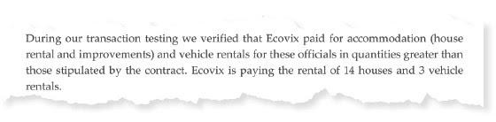 Trecho de auditoria pedida por sócio da Engevix (Foto: Reprodução)
