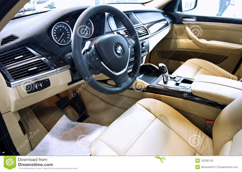 X6 Car Interior