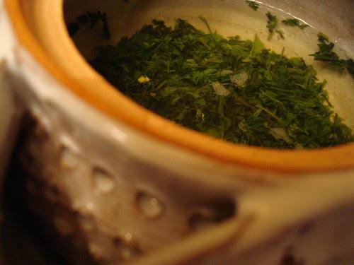 Matsu no Midori Sencha brewing