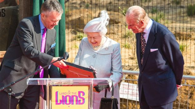Queen, Ralph Armond and Prince Philip
