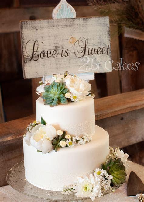 Succulent Wedding Cake   CakeCentral.com