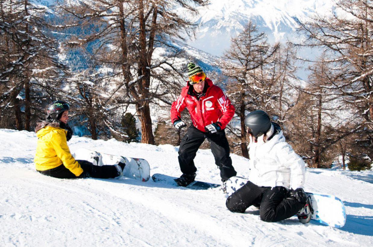 Ecole Suisse De Ski Veysonnaz Snowboard