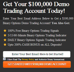 Forex binary options demo account