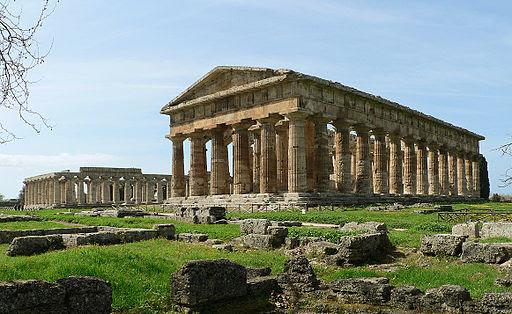 Veduta di Paestum 2010
