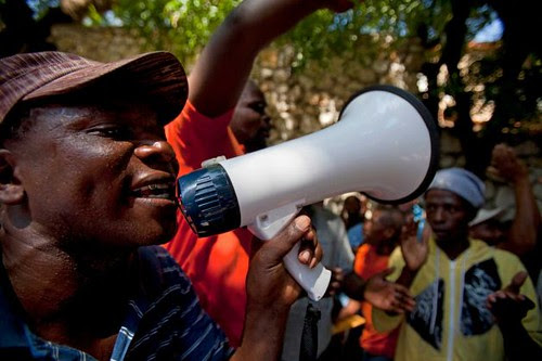 Haitian are protesting the denial of citizenship rights in Dominican Republic. Many Haitians were born there but are not granted basic rights. by Pan-African News Wire File Photos