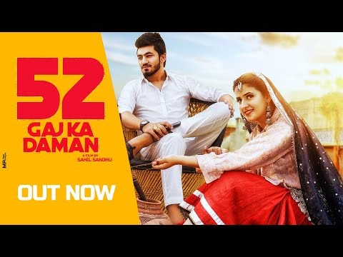 52 GAJ KA DAMAN Lyrics - Renuka Panwar # Haryanvi Dj SonG