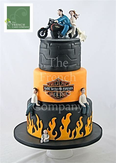 Wedding Cake Motorcycle   Piece Montee Mariage Moto