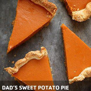 dad's sweet potato pie
