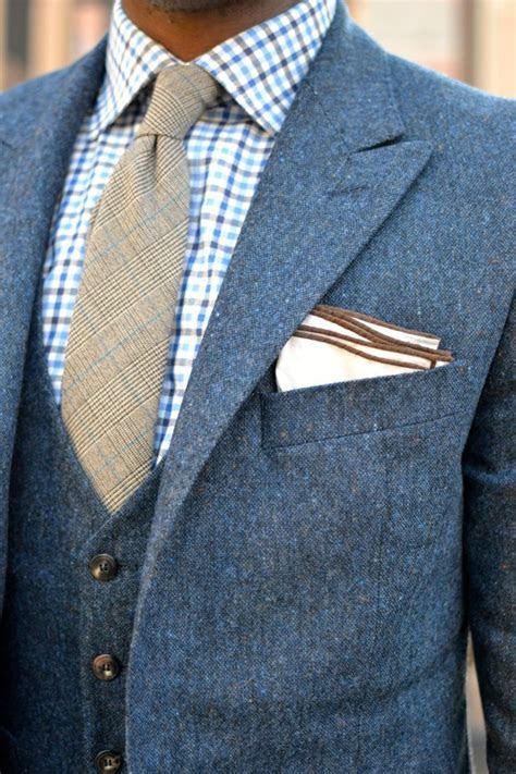 Best 25  Blue tweed suit ideas on Pinterest   Mens suit