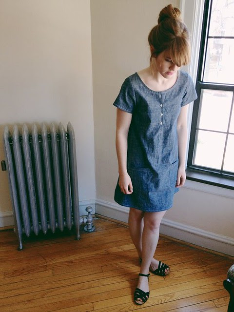 spring/summer sample dress