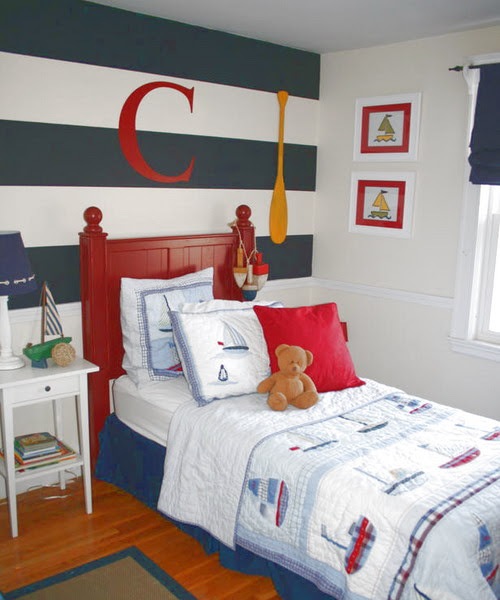 5 Navy-Themed Boys Bedrooms To Inspire You   Shelterness