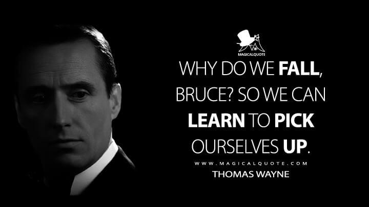 Batman Begins Quotes Thomas Wayne