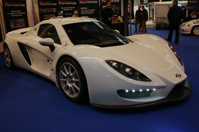 Sin 01, Autosport International, NEC, Birmingham
