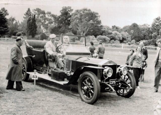 Vintage Car, Melbourne, Vic c1957-58