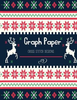 A Christmas~counted cross stitch pattern #804~Holidays Christmas Graph Chart