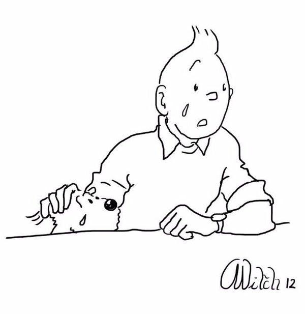تان تان يبكي.. الشخصية الكرتونية البلجيكية الأصل تعود للواجهة