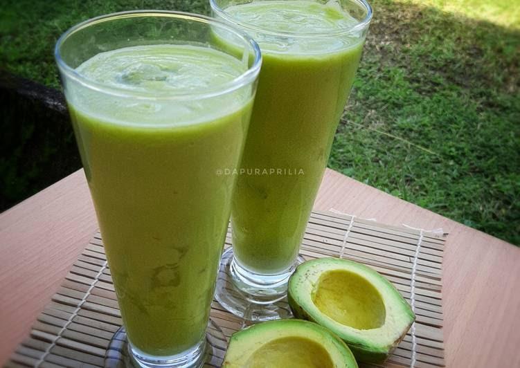 tutorial membuat jus pokat air kelapa foody bloggers Resepi Kek Milo 3 In 1 Enak dan Mudah