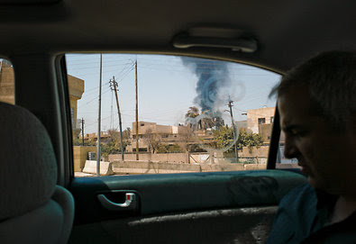 Anthony Shadid, a foreign correspondent for The New York Times, in the Mansour neighborhood of Baghdad in 2010.