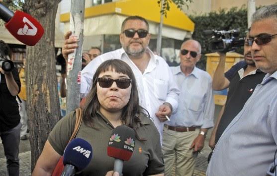 Προκαλεί και πάλι η κόρη του αρχηγού της φασιστικής νεοναζιστικής οργάνωσης.
