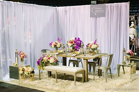 Industrial Glamour ? Okanagan Bridal Expo Booth 2014