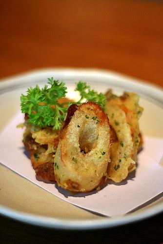 Hamo Chikuwa Tenpura - Deep-fried Fish Cake