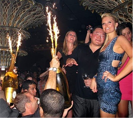Jho Low With Paris Hilton Partying 2