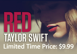 Taylor Swift, Red: Limited-Time Price: $9.99