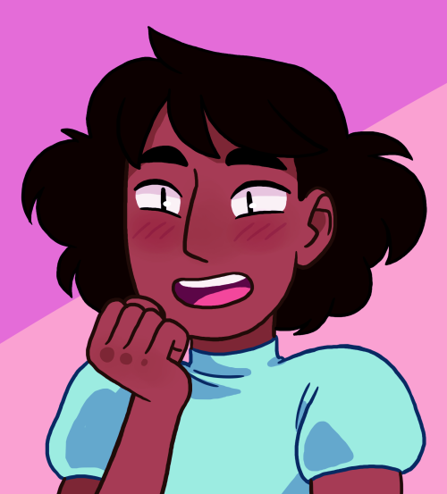 ninth-00 said: Connie with her short hair? Answer: My GIRL!!!!
