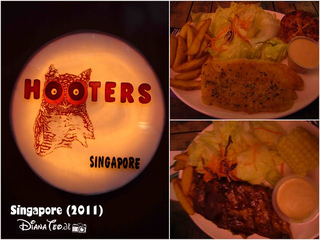 Day 1 Singapore - Hooters