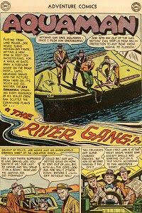 Adventure #195 Aquaman Splash Page