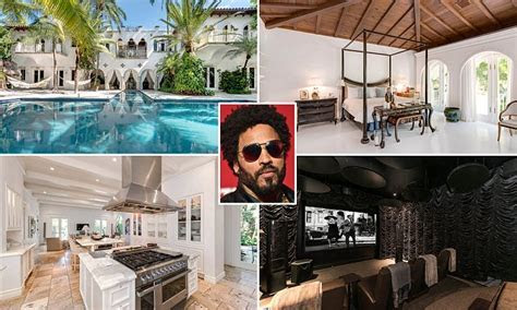 Miami home once owned by Lenny Kravitz hits the market for