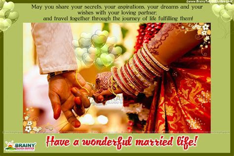 MARRIAGE WISHES QUOTES IN ENGLISH LANGUAGE WITH COUPLE HD